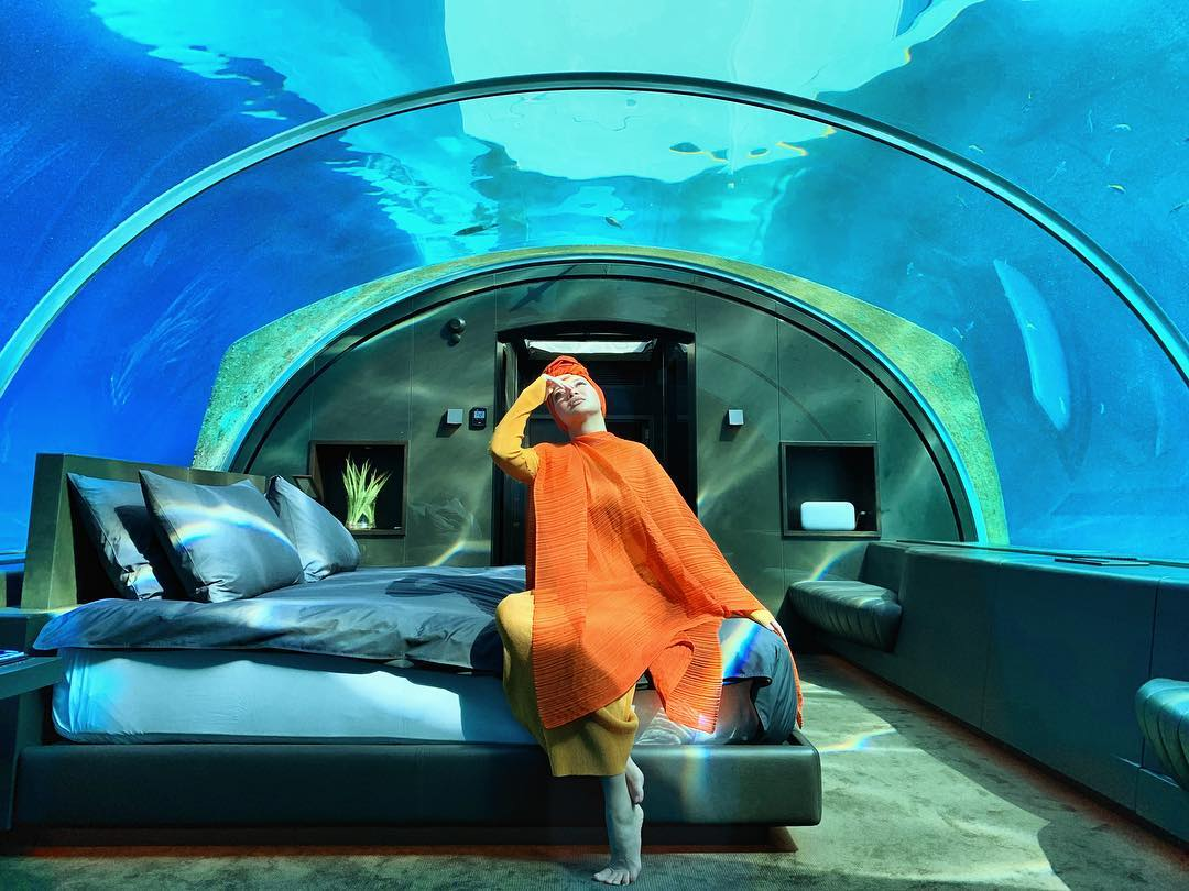 Neelofa In Luxury Undewater Villa, Maldives