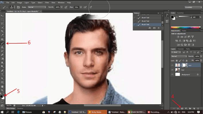 Tutorial menggabungkan dua wajah menjadi satu