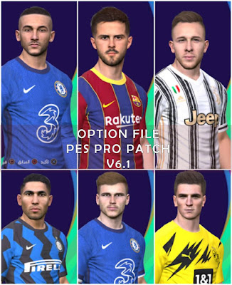 PES 2017 Option File for PES Professionals Patch 2017 Season 2020/2021