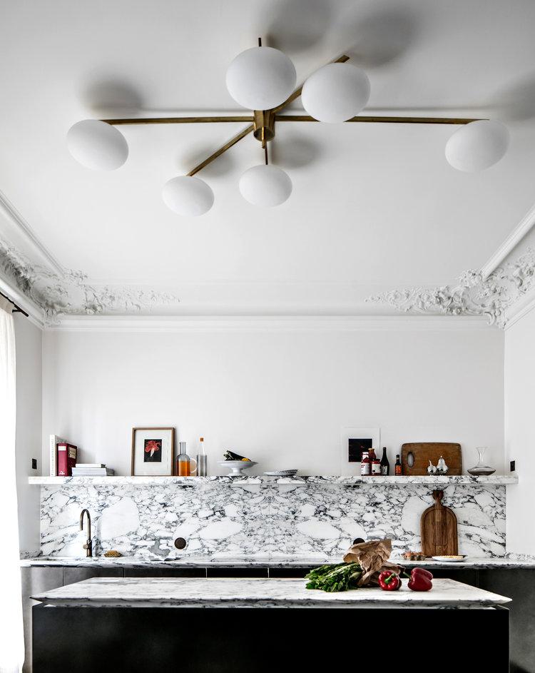 Décor Inspiration: Subtle Sophistication at Saint-Sulpice, Paris, by Jean Charles Tomas
