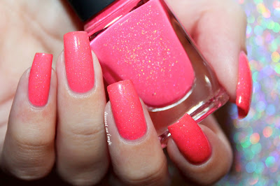 "Swatch of the nail polish ""Summer Crush"" from ILNP"