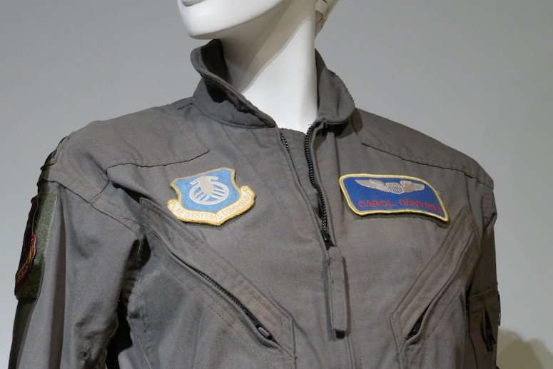 Carol Danvers Captain Marvel USAF flight suit detail