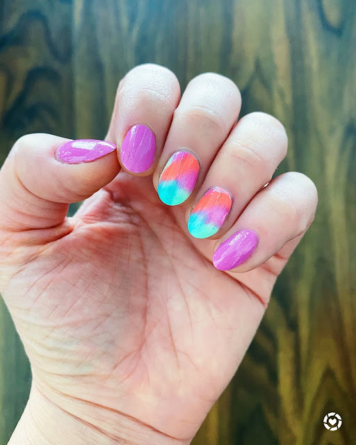 Pre-Fall Tie Dye Nail Art Inspo 2020 - Tori's Pretty Things
