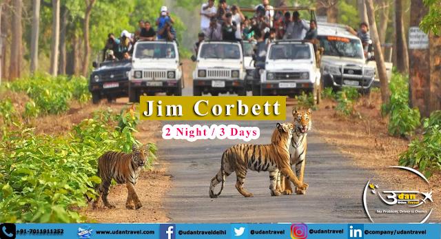 Jim Corbett Tour Packages From Delhi