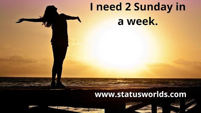 Sunday Status, Quotes, And Sunday Caption, Wish