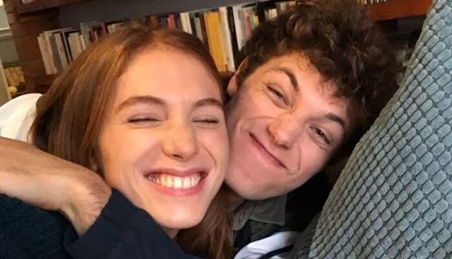 Eva y Giovanni, de 'SKAM Italia'