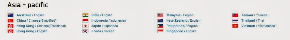 Основные государственные языки стран Азии