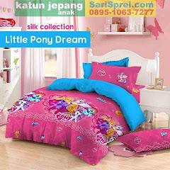 Sprei Katun Jepang Anak Little Pony Dream Pink