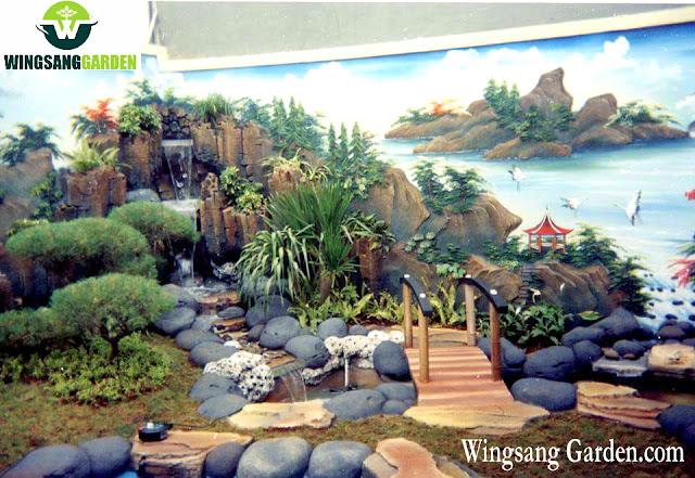 Jasa Tukang Dekorasi Kolam Relief Tebing