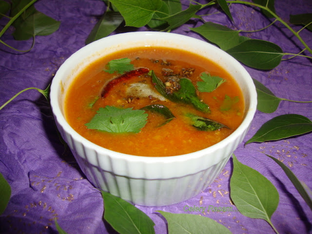 images of Celery Rasam Recipe / Celery Soup Recipe -  Indian Soup Recipe