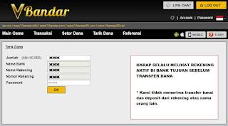 Cara Withdraw Di Situs Judi BandarQ Online VBandar.net - www.Sakong2018.com