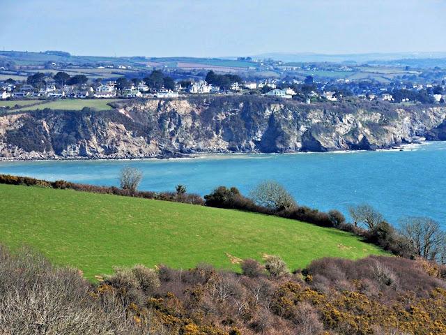 The coastal path, Cornwall