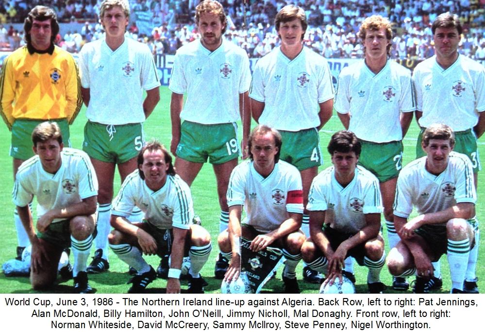 Resultado de imagem para seleçao da irlanda 1986