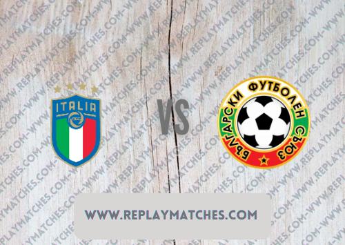 Italy vs Bulgaria Full Match & Highlights 02 September 2021
