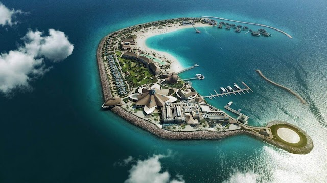 Check out these islands in Qatar!