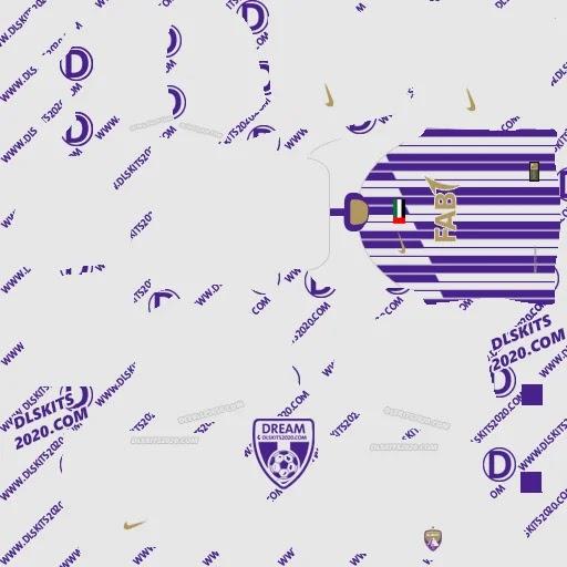 Fc Al Ain Kits 2020-2021 For Dream League Soccer 2021 by Nike (Home)