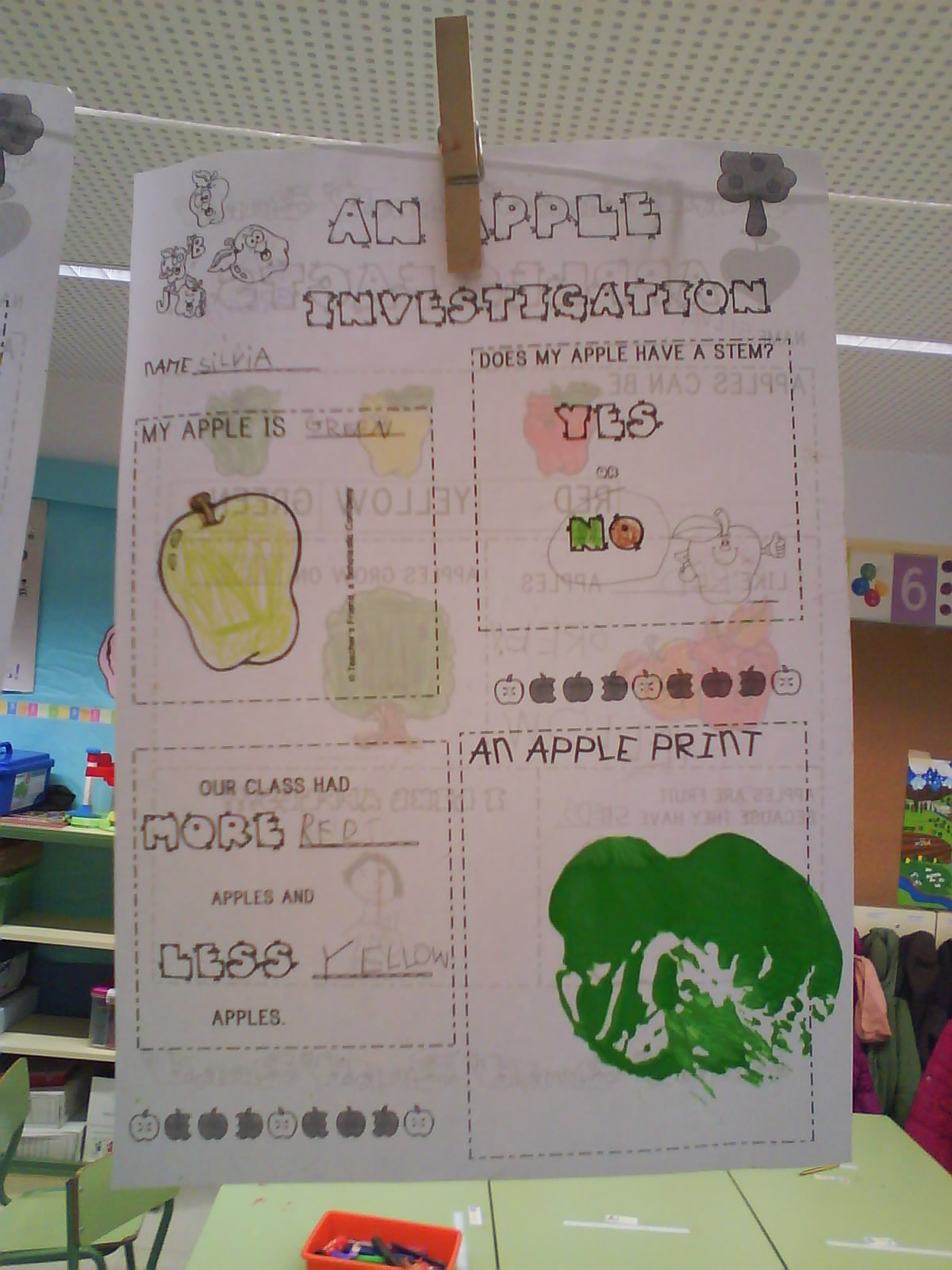 The Teaching Express An Apple Investigation And 10 Apples