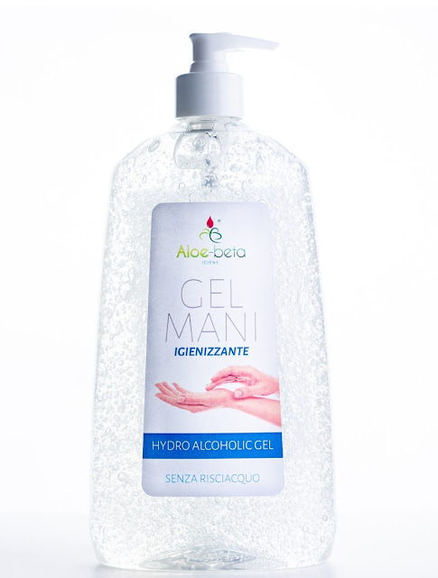 Gel igienizzante mani con dispenser 65% alcoo 1000 ml.