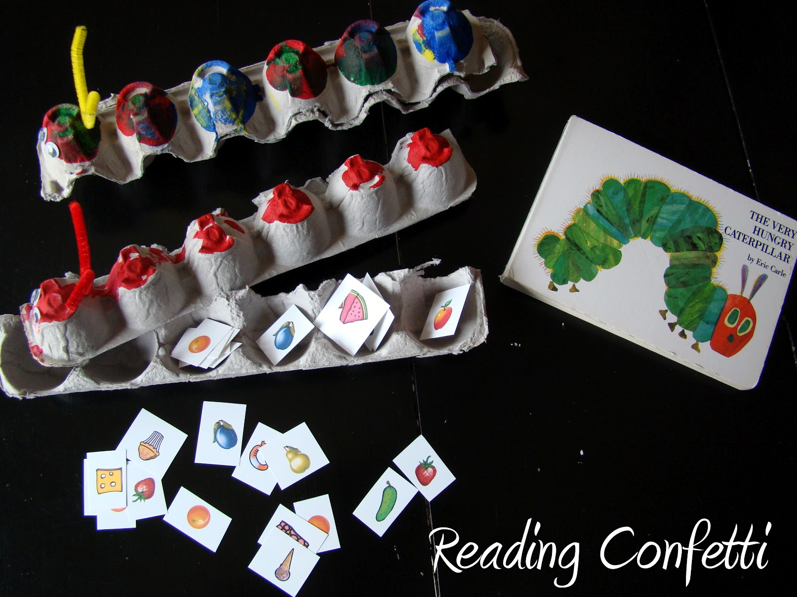 Feed The Very Hungry Caterpillar Amp Printable Reading