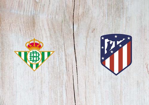 Real Betis vs Atletico Madrid -Highlights 22 December 2019