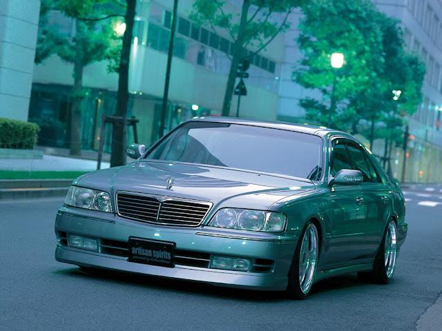 Nissan Cima Y33 Infiniti Q45 V8 japońska limuzyna sedan klasa premium luksusowy komfortowy samochód 日本車 日産 インフィニティ
