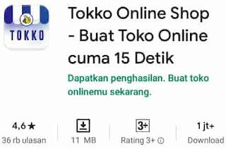 aplikasi bisnis online tokko