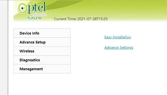 How to check PTCL current package