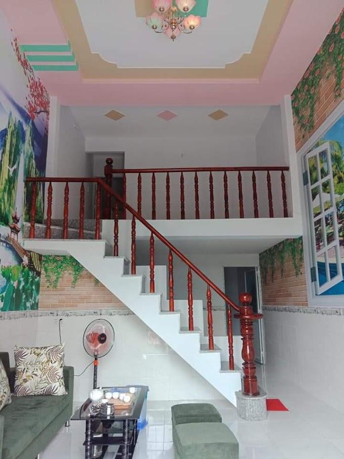 Cần bán căn nhà gác đúc ở Tân Hiệp, Tân Bình, Dĩ An, Bình Dương. Giá chỉ 750tr