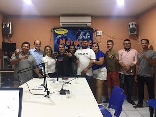 Neide de Teotônio concede entrevista ao programa Guarabira em debate da Nordeste FM