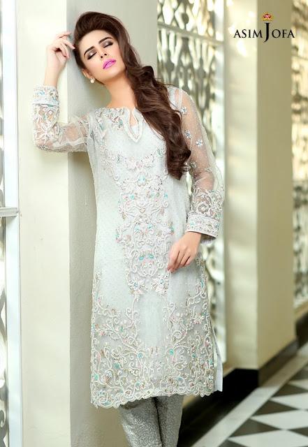asim Jofa formal off white bridal dress
