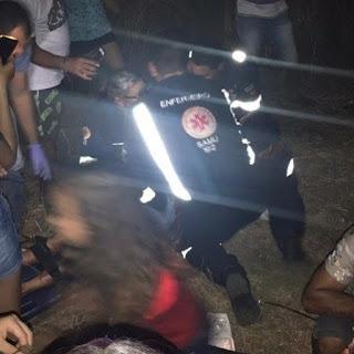 Grave acidente deixa jovem de 26 anos morta e três feridos na cidade de Diamante.