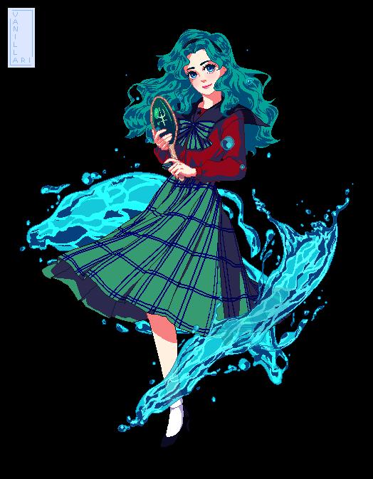 Kaiou Michiru (Bishoujo Senshi Sailor Moon)