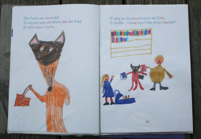 Buchprojekt zu Herr Fuchs mag Bücher von Franziska Biermann