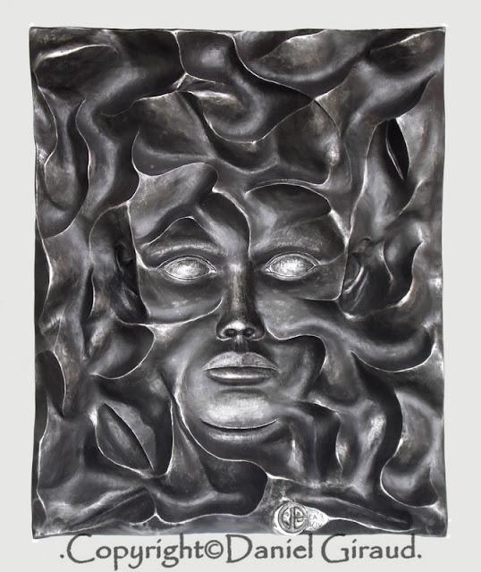 sculpture/tableau giraud