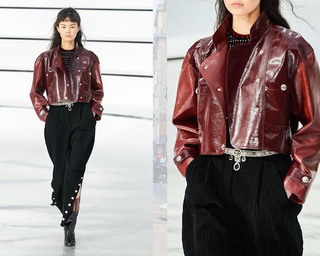 Chanel осень 2020 зима 2021 13