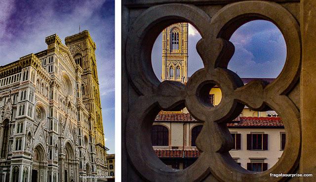 Catedral de Florença e Campanário de Giotto