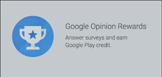 dapat uang dari aplikasi google opinion rewards