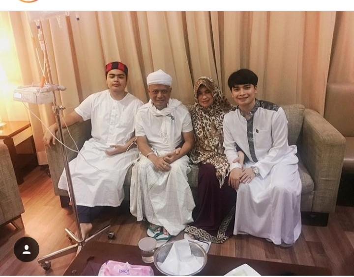 Lihat Foto Terbaru, Doa Non Muslim untuk KH M Arifin Ilham Bikin Nangis