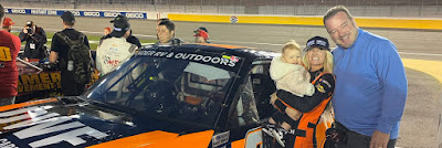 Angela Ruch Partners with The Wounded Blue (#NASCAR Truck Series)