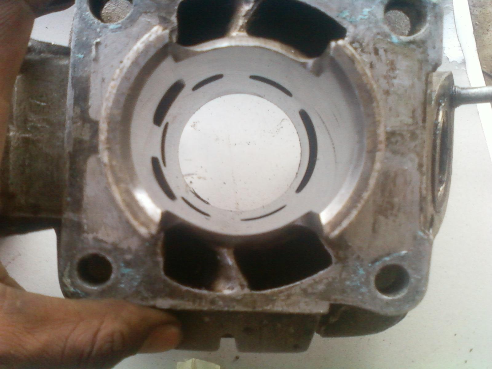 ORI Piston Sudah Pake RX King BENGKEL MODIFIKASI ONLINE OKUD MOTOR