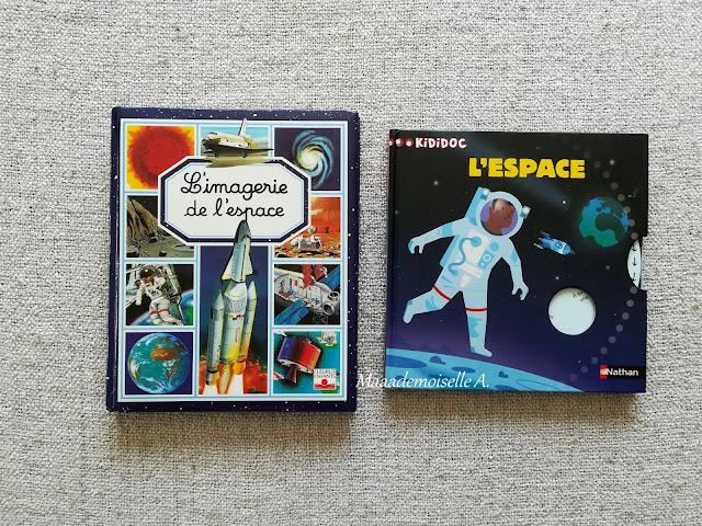 || Sélection de livres sur l'espace (Et dans leur bibliothèque il y a... # 12) - Kididoc et L'imagerie de l'espace