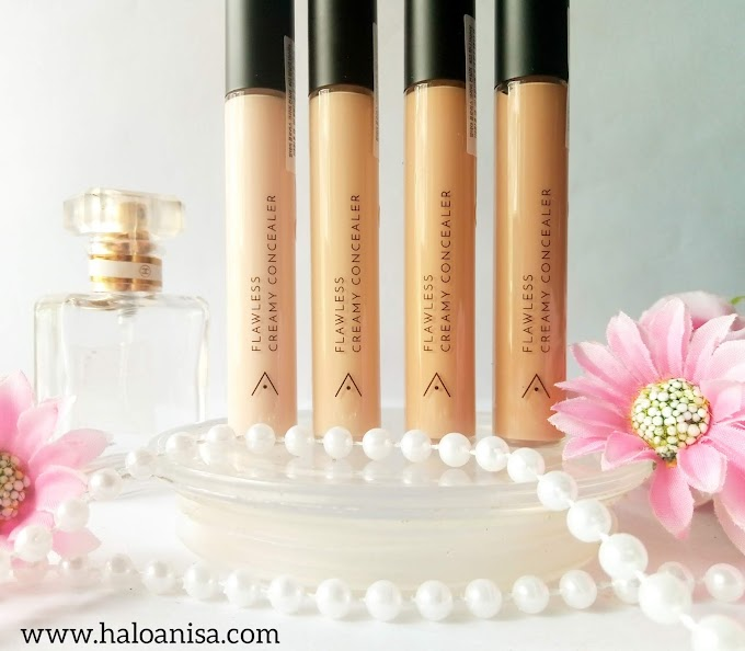 Review Althea Flawless Creamy Concealer - Bahasa Indonesia