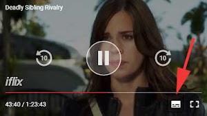 Cara Mengganti/Memunculkan Subtitle Indonesia Di Iflix Android