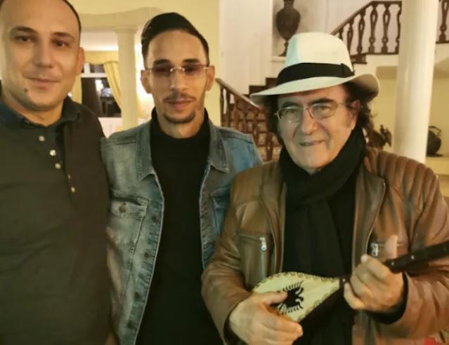 Due albanesi che stanno creando canzoni per artisti famosi in Italia, compresa la figlia di Albano Carrisi