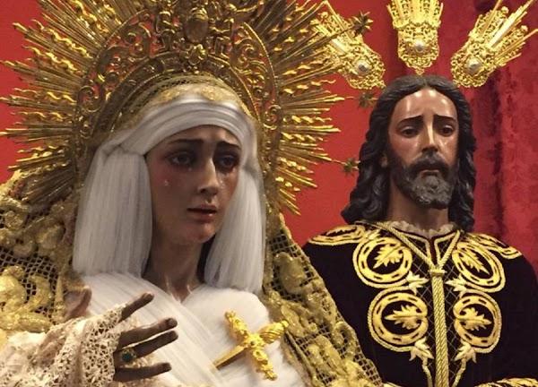 Un nuevo palio y la restauración de la Virgen del Dulce Nombre de Bellavista, a votación