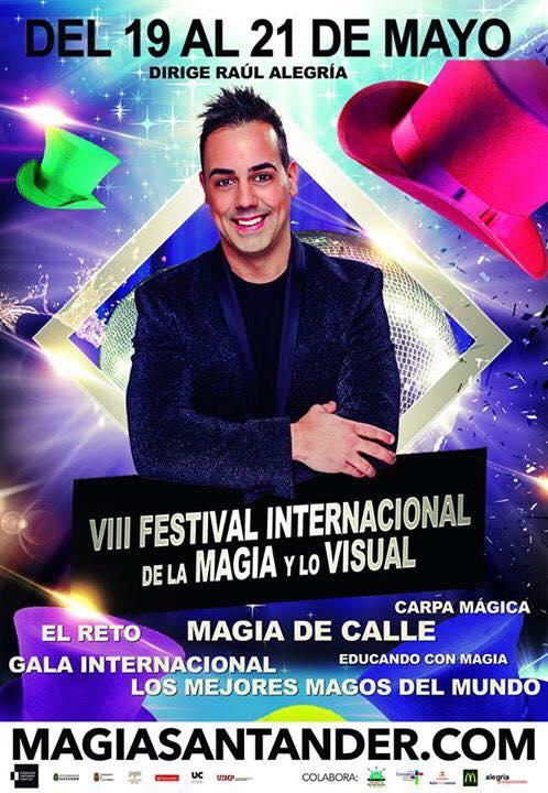Festival internacional de la Magia y lo Visual en el Palacio de Festivales de Santander