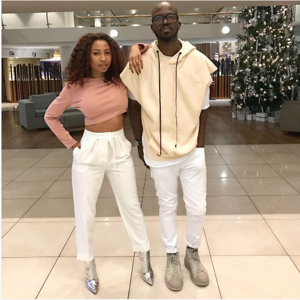 Four Years After Getting Married And Having Their Traditional Wedding Two Kids Later Dj Black Coffee His Wife Enhle