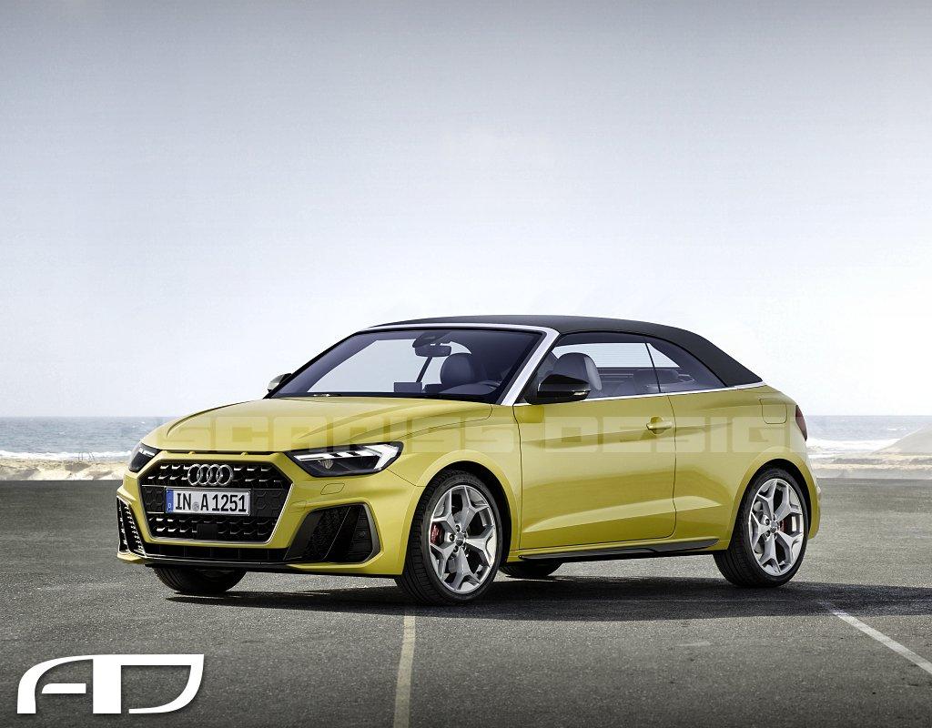 Audi A1 Cabrio version 2