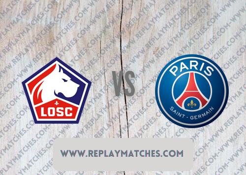 Lille vs PSG -Highlights 01 August 2021