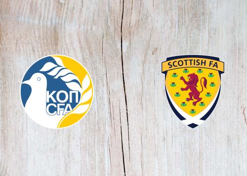 Cyprus vs Scotland -Highlights 16 November 2019